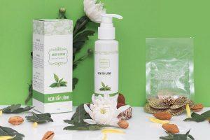 Review kem tẩy lông vĩnh viễn Green and Green làm từ tinh chất trà xanh