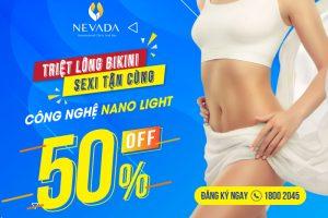Dịch vụ triệt lông vĩnh viễn vùng kín Công nghệ Nano Light tại Nevada