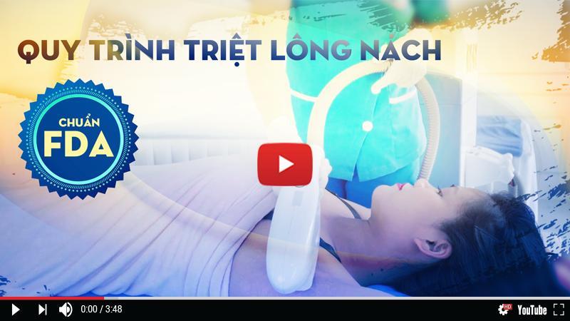 Video toàn cảnh quy trình triệt lông nách Nano Light