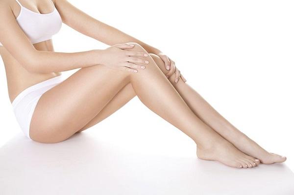 Hiệu quả khi triệt lông chân bằng công nghệ Nano Light