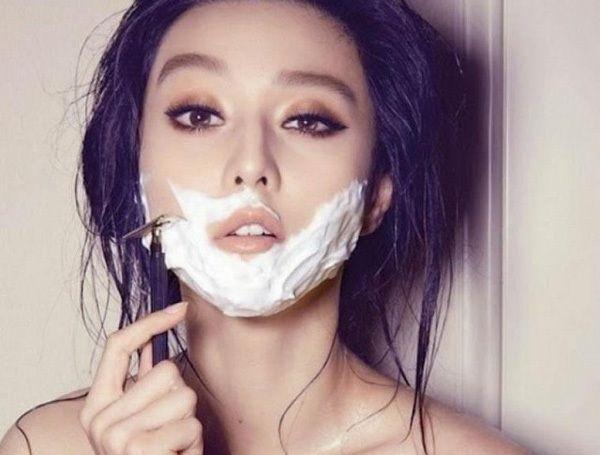 cách triệt lông mặt an toàn