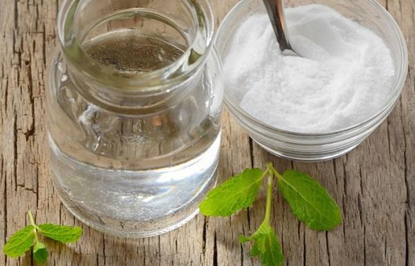 triệt lông bằng bột baking soda