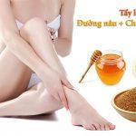 Tẩy lông chân bằng phương pháp tự nhiên áp dụng ngay tại nhà