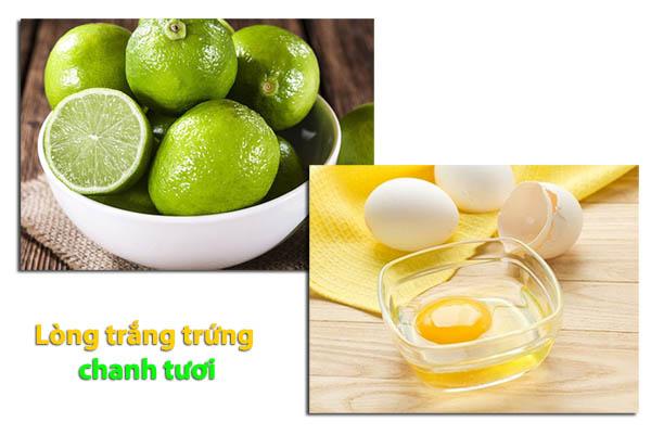 Tẩy lông mặt bằng lòng trắng trứng