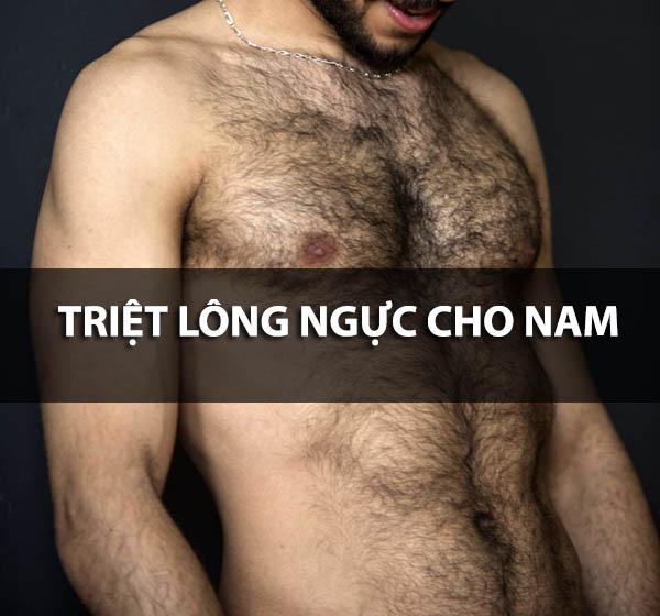 Có nên triệt lông ngực cho nam giới hay không?
