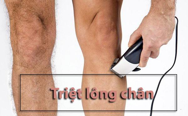 Triệt lông tay chân có ảnh hưởng không