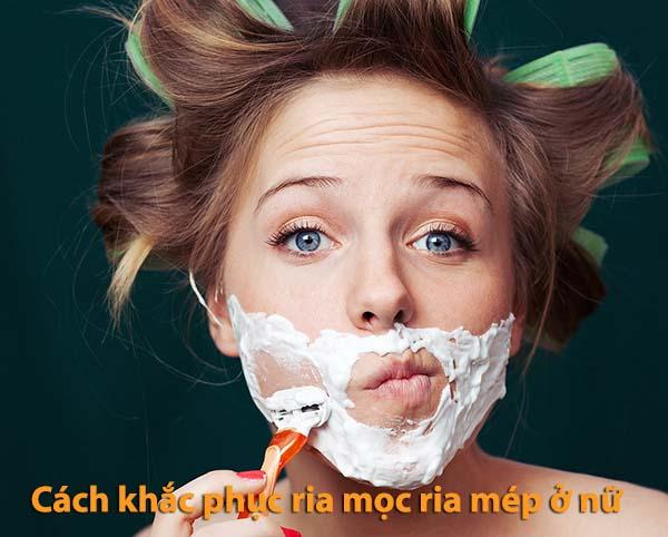 Cách khắc phục tình trạng mọc ria mép ở nữ