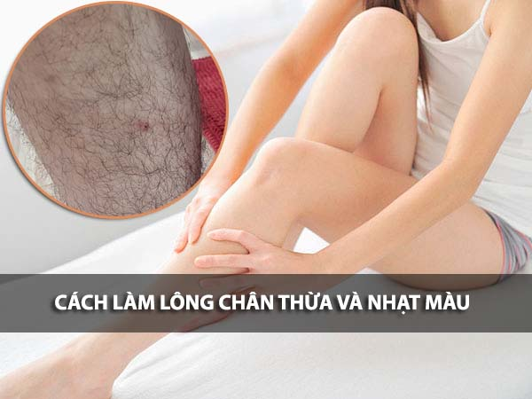 Đâu là cách làm lông chân mọc thưa và nhạt màu hiệu quả? Bật mí cách làm lông chân bớt đen cực dễ