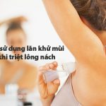 Sau khi triệt lông nách có nên dùng lăn khử mùi không? Hỏi đáp chuyên gia
