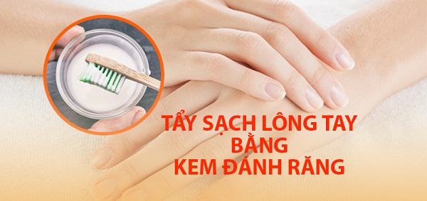 Đánh bật sạch vi-ô-lông khi áp dụng cách tẩy lông tay bằng kem đánh răng