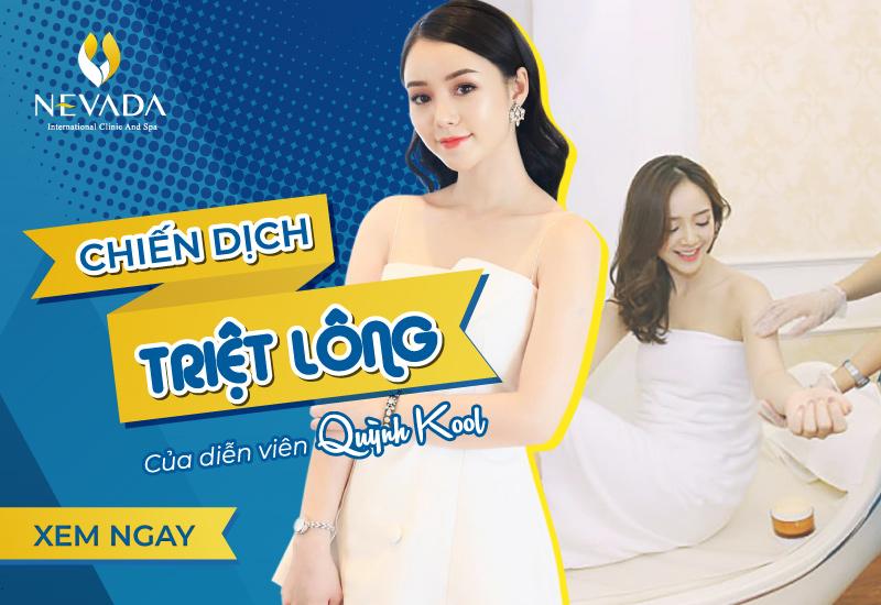 Chiến dịch triệt lông của Hot girl Quỳnh Kool: Thoát vi-ô-lông, không lo ế show