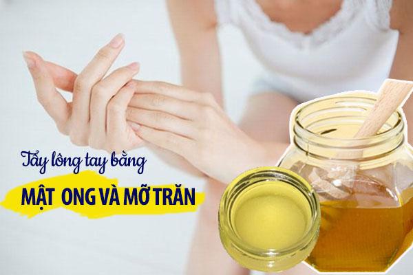 cách tẩy lông tay bằng mật ong,tẩy lông tay bằng mật ong
