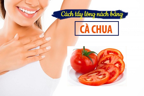 Triệt hạ vi-ô-lông cứng đầu nhất với cách triệt lông nách bằng cà chua