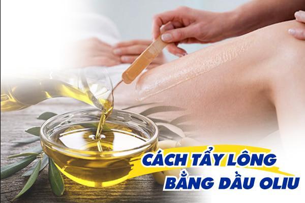Bổ sung vào cẩm nang làm đẹp cho chị em cách tẩy lông bằng dầu oliu