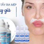 """Cách triệt ria mép bằng oxy già   Giải pháp """"cứu nguy"""" hay phá hủy gương mặt khi triệt ria mép bằng oxy già?"""