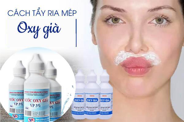 Cách triệt ria mép bằng oxy già | Giải pháp cứu nguy hay phá hủy gương mặt khi triệt ria mép bằng oxy già?