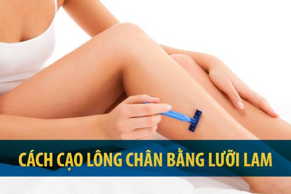 Cách cạo lông chân bằng lưỡi lam tại nhà chỉ sau 2 phút | Giải pháp an toàn hay mối nguy tiềm ẩn cho chúng ta