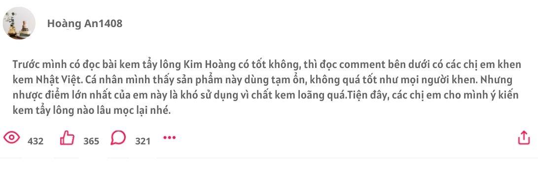 Kem rụng lông Nhật Việt, Kem rụng lông Nhật Việt có tốt không, Kem rụng lông Nhật Việt giá bao nhiêu, Kem rụng lông Nhật Việt giá