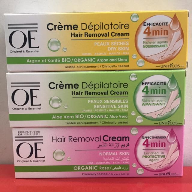 Kem tẩy lông OE Pháp có tốt không? Người dùng review như thế nào về kem tẩy lông OE?